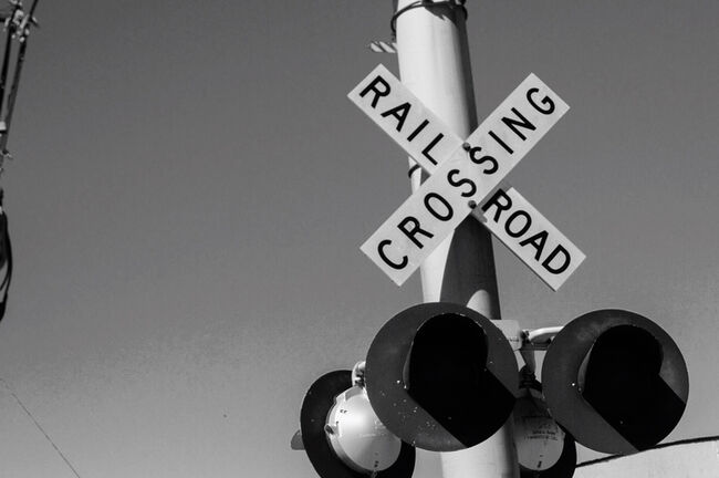 Railroad Crossing | GettyImages-556947889