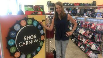 Photos - Sally stops by Shoe Carnival, WPB
