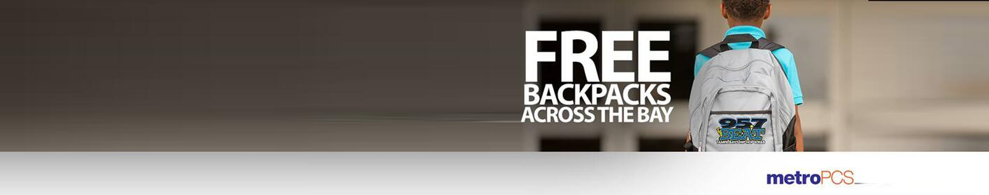 FREE Backpacks Across The Bay with MetroPCS!