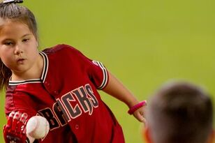 8-Year-Old With 3-D Printed Hand Threw Out First Pitch At D-Backs Game