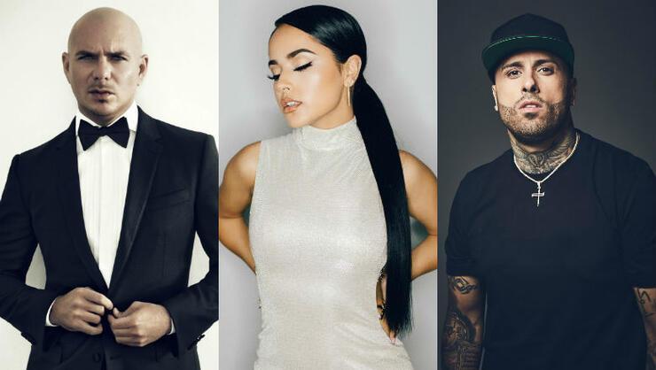 Pitbull, Becky G, Nicky Jam