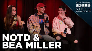 Gabby Diaz - NOTD & Bea Miller in the AT&T THANKS Sound Studio