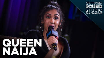 ROW - Queen Naija talks with Row in the AT&T THANKS Sound Studio!