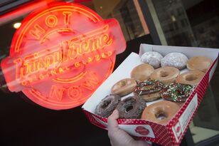 Krispy Kreme Is Selling A Dozen Glazed Donuts For $1 On Its Birthday