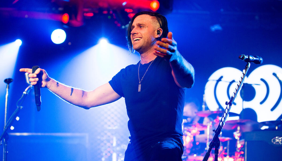 Three Days Grace Celebrate Record-Setting Night at iHeartRadio Theater