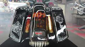 Harley - Paul Yaffe's KISS Bike!!!!