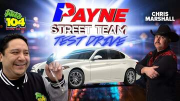 The Mojo Morning Show - Payne Street Team Test Drive w/Johnny O