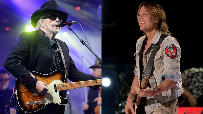 The Late Merle Haggard Might Score A Number-One Thanks To Keith Urban