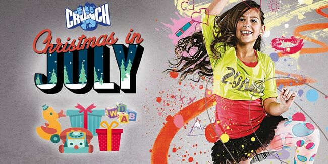 Christmas In July Zumba.Kids Zumba Toys For Musc Children S Hospital Y102 5