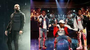 Featured on Z100 - Drake & Migos Delay Joint Tour Due to Production Issues