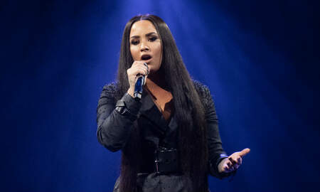 Trending - Demi Lovato's Nude Photos Leaked Online After Her Snapchat Was Hacked
