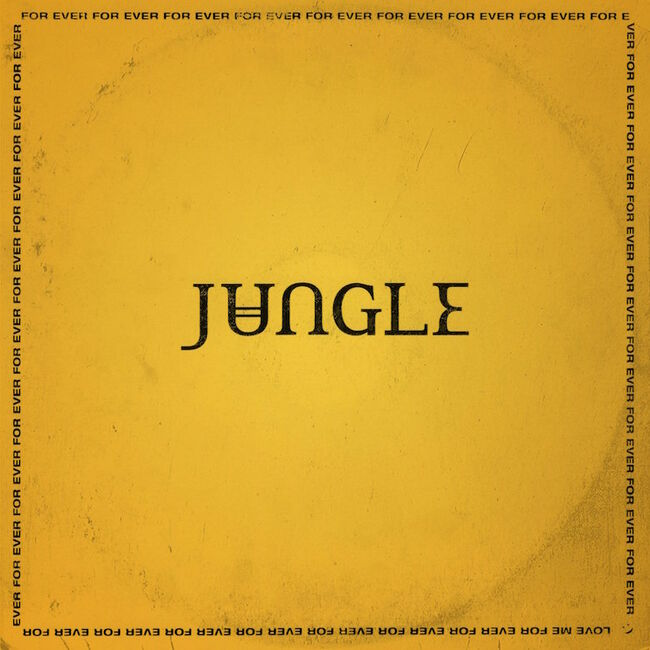 Jungle - 'For Ever' Album Cover Art