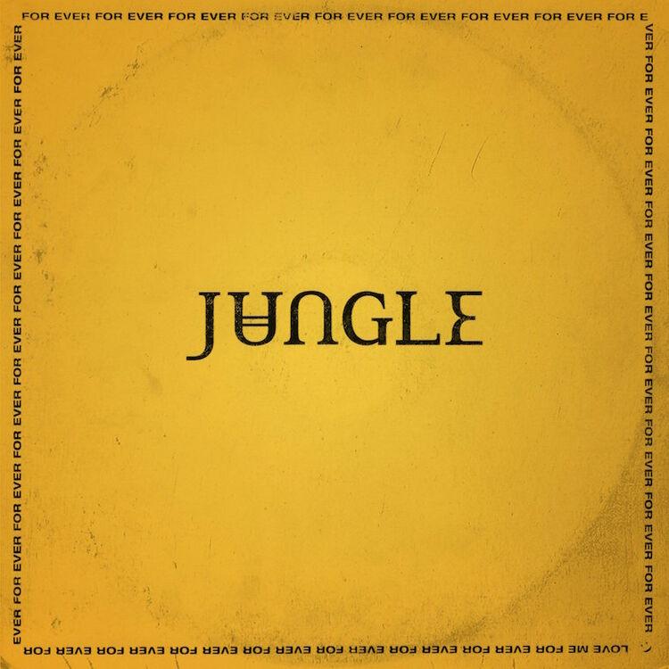 Jungle - 'For Ever' Album Cover Art