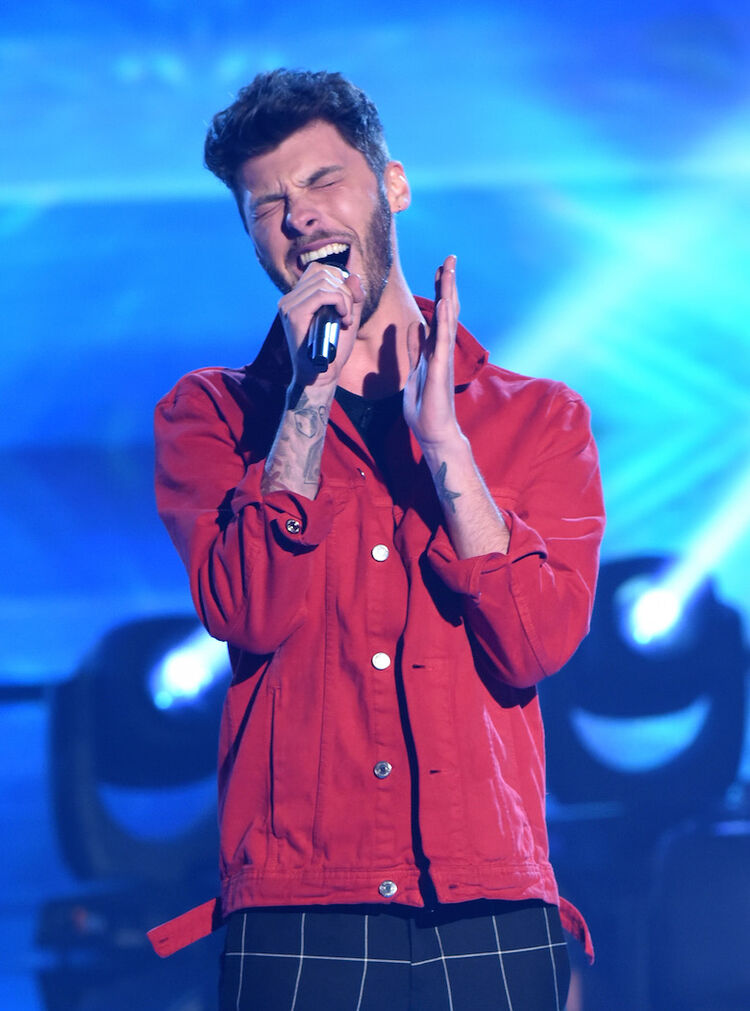 """James Graham performs on """"The Four"""""""