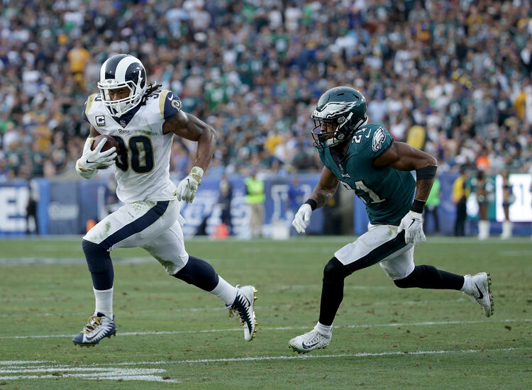 Todd Gurley is a Hot Commodity in Fantasy Football