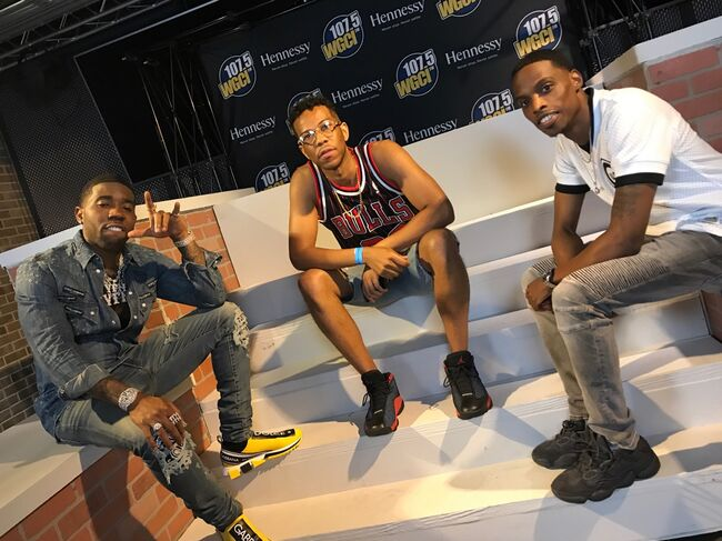 Backstage at WGCI Summer Jam!