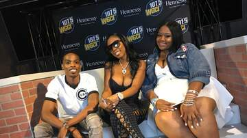 WGCI Summer Jam - YFN Lucci Talks Wish Me Well III + Lil Wayne And Dating Reginae! [VIDEO]