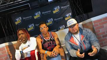 WGCI Summer Jam - Famous Dex Summer Jam 2018 Interview With DJ MoonDawg & Trey White!