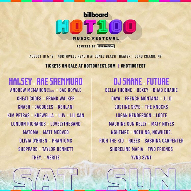 Win Passes To The Billboard Hot 100 Music Festival | 103 5 KTU