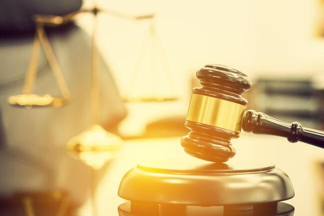 Gavel court Getty RF