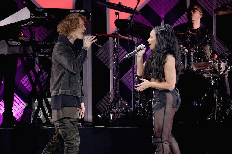 "Cheat Codes Dedicates ""No Promises"" to Demi Lovato At Atlantic City Show"
