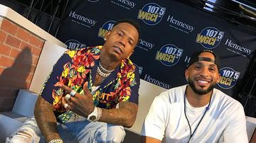 WGCI Summer Jam - Tone Kapone Caught Up With Moneybagg Yo at Summer Jam 2018! [INTERVIEW]