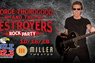 George Thorogood - Live @ Miller Theater 10/16!