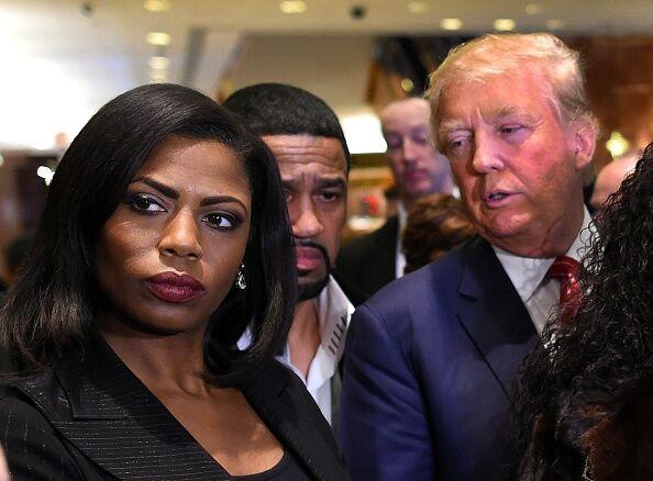 Omarosa Manigault & Donald Trump - Getty Images