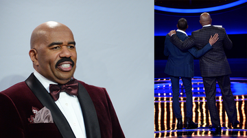 Weird, Odd and Bizarre News - Steve Harvey Shocked By Family Feud Contestant's Emotional Confession