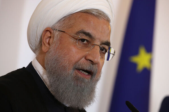 Iranian President Hassan Rouhani-GETTY IMAGES