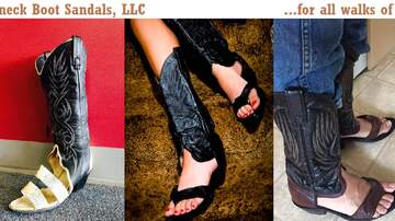 Brian Taylor - Cowboy Boot Sandals Are Now An Option!!!