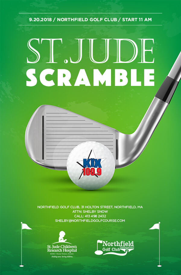 St Jude Golf Scramble