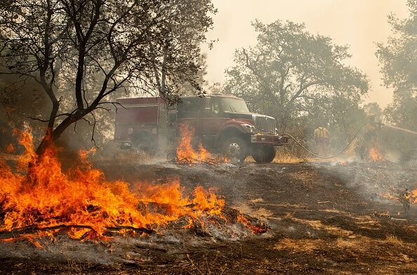 Carr wildfire in Northern California