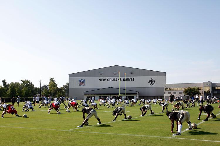 Saints Training Camp Getty Images
