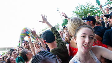 Summer Block Parties - Crowd Cam Pictures at our July 2018 Summer Block Party