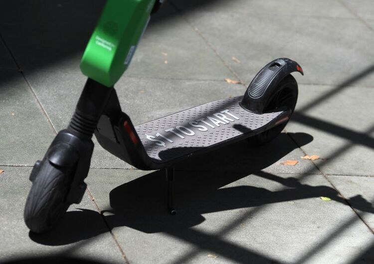 Electric Scooter Getty Images