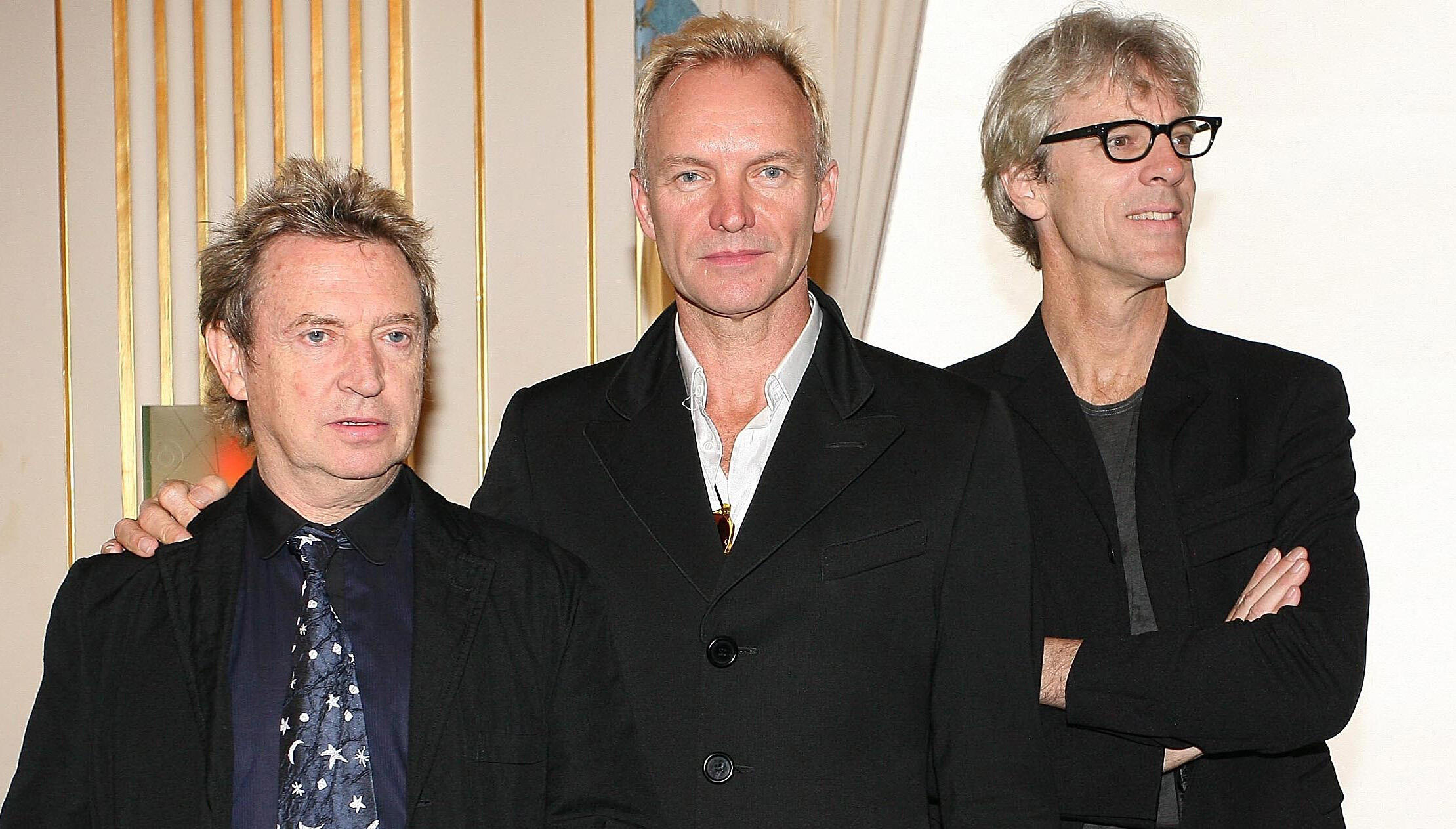 """The Police's Andy Summers Has """"Avoided"""" Music by Sting, Stewart Copeland"""