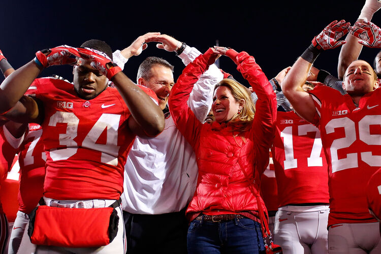 Urban Meyer and his wife, Shelly, are at the center of an on-going scandal at Ohio State