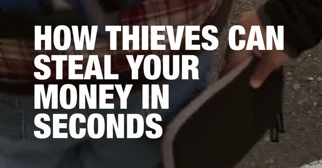 How thieves can steal your money using RFID scanners