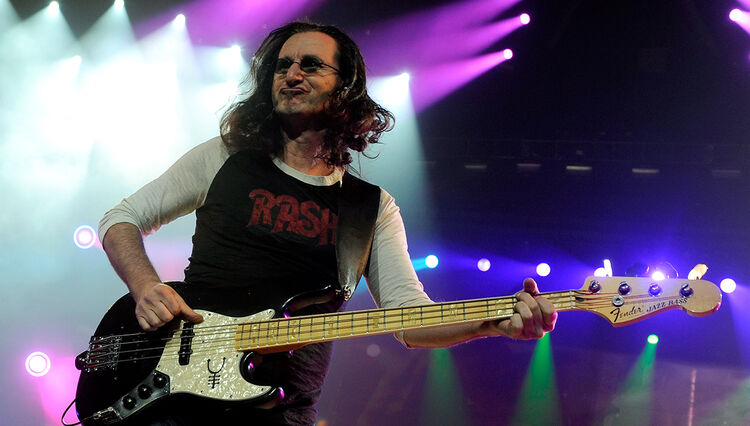 Geddy Lee Explores the History of the Bass Guitar in New Book