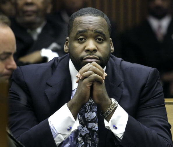 Kwame Kilpatrick is now being accused of accepting benefits for investing city money in business.