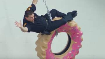 Fisher - SLC Police Do Lip Sync Challenge... With Donuts!