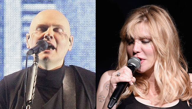 Billy Corgan Reunites With Courtney Love for Smashing Pumpkins 30th Anniversary