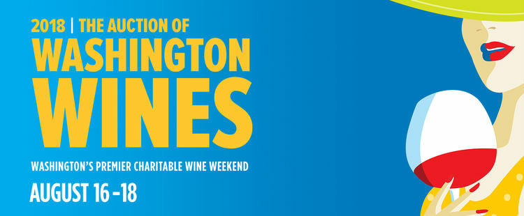 Get tickets now for the Auction of Washington Wines!