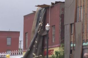 Tornado Damages Webster Town Center