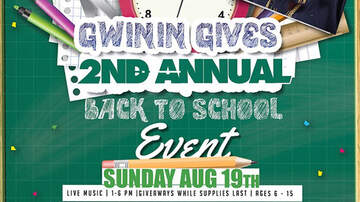 DJ Self - 2nd Annual Gwinin Gives Back to School Event