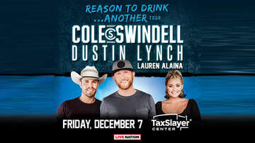 What's New At WLLR - Cole Swindell/Dustin Lynch Pre-Sale Offer