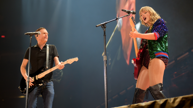 taylor swift bryan adams