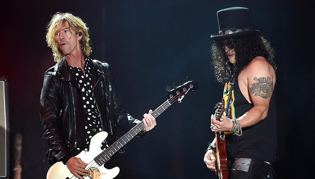 Slash Says Guns N' Roses Has Talked About Making New Music