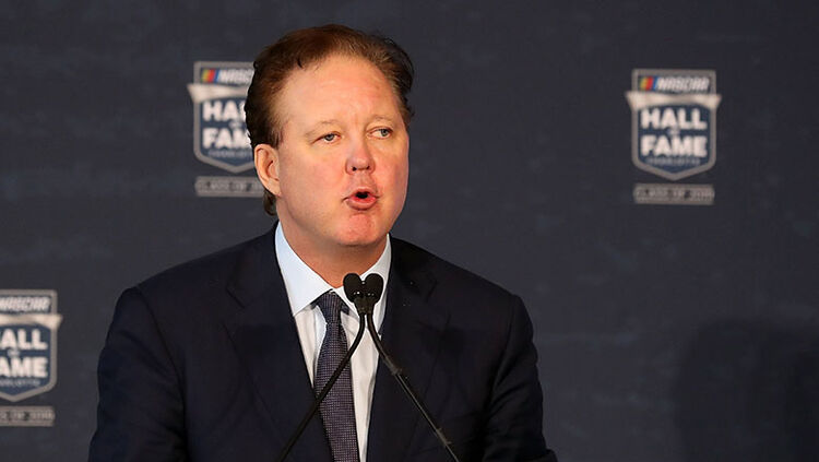 Brian France, CEO and Chairman of NASCAR